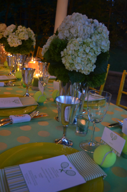 Tennis Table Setting, Source