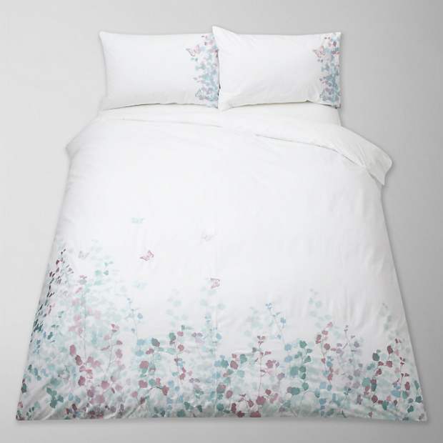 Klara Butterfly Embroidered Bedding,John Lewis £10.00 - £80.00