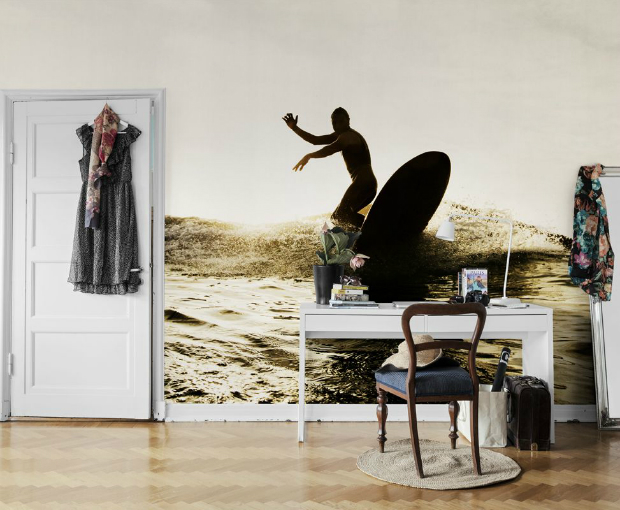 Surf by Mr Perswall, WallpaperDirect £248.00