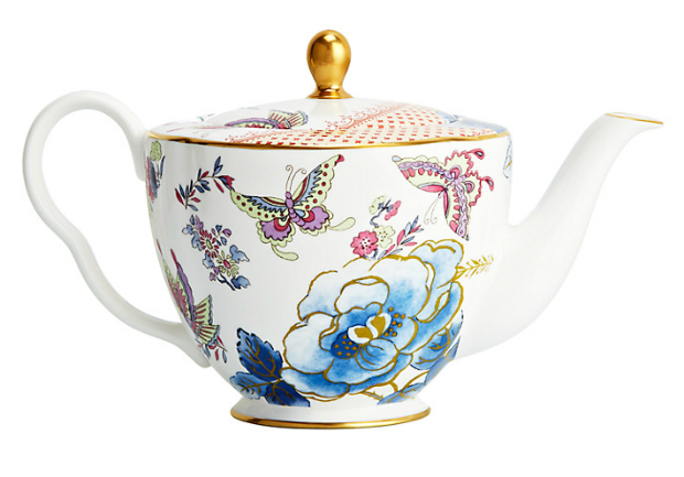 Wedgwood Butterfly Bloom Teapot, John Lewis £95.00
