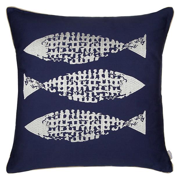 Scion Shibori Quilted Cushion, John Lewis £25.00