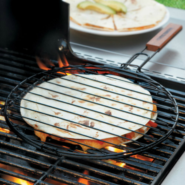 Charcoal Companion Quesadilla Grill Basket, Chefs £9.28