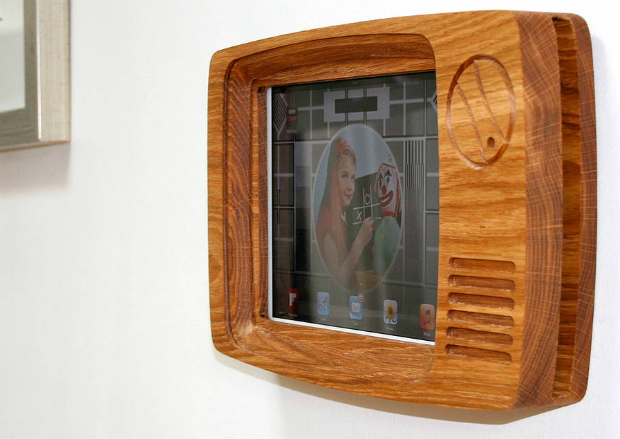 Retro Tv Frame For iPad, Not on the High Street £50.00