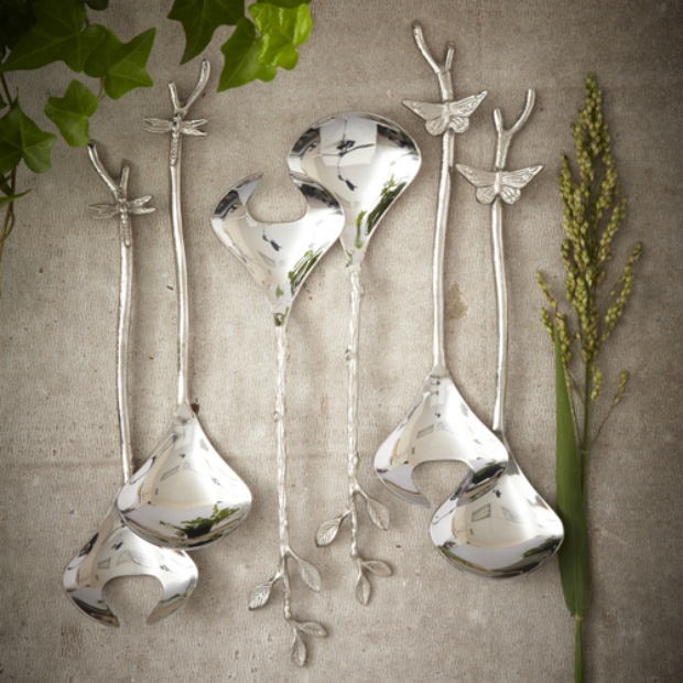 Pomona Salad Servers, Adventino £35.00