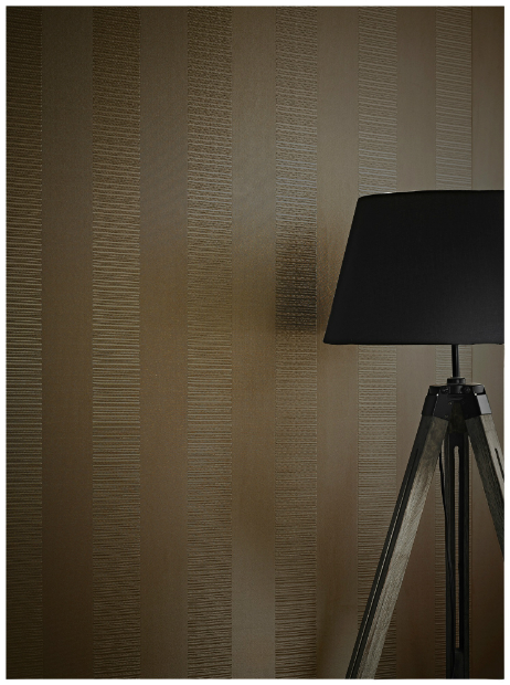 Vintage Ravello Stripe Chocolate, Arthouse £25.99
