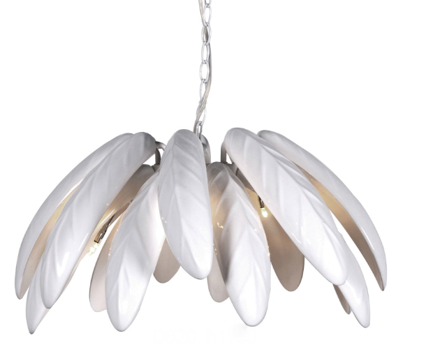 Hawaiian Tropic Leaves Pendant Light, Alexander & Pearl £425.00