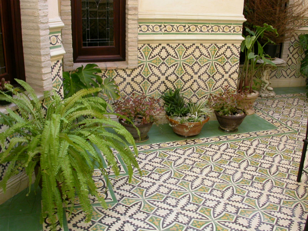 Tiled Patio In Spain, Alhambra Home & Garden, From £99 per square metre