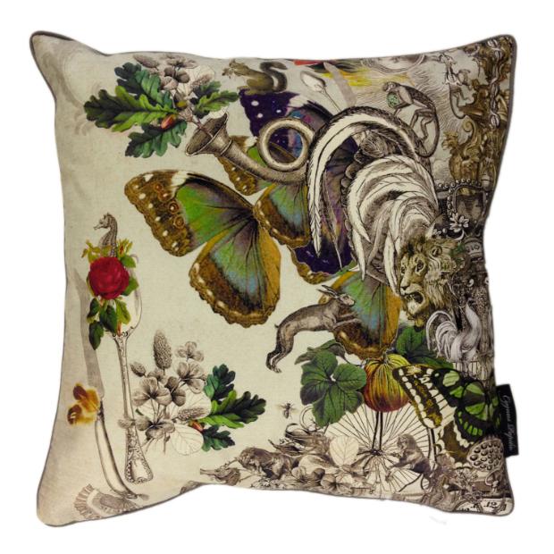 Cygnus Papilio Sri Lanka Cushion, Cotswold Trading £45.00