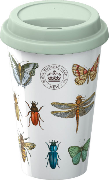 The Royal Botanic Gardens, Kew Bug Study Travel Mug, Creative Tops Ltd £9.99