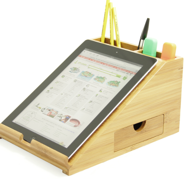 Bamboo iPad Stand, Protect the Planet £24.99