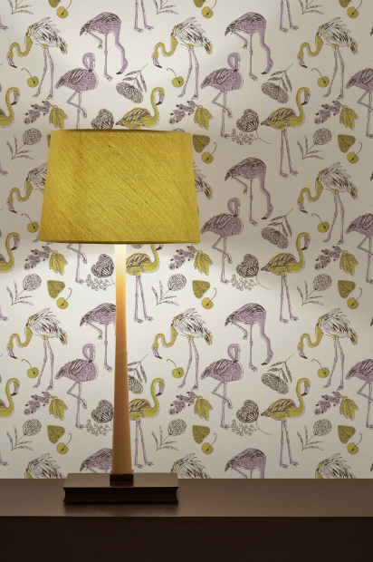 Flamingo Feathers Wallpaper Panels, DigetexHOME £40.00