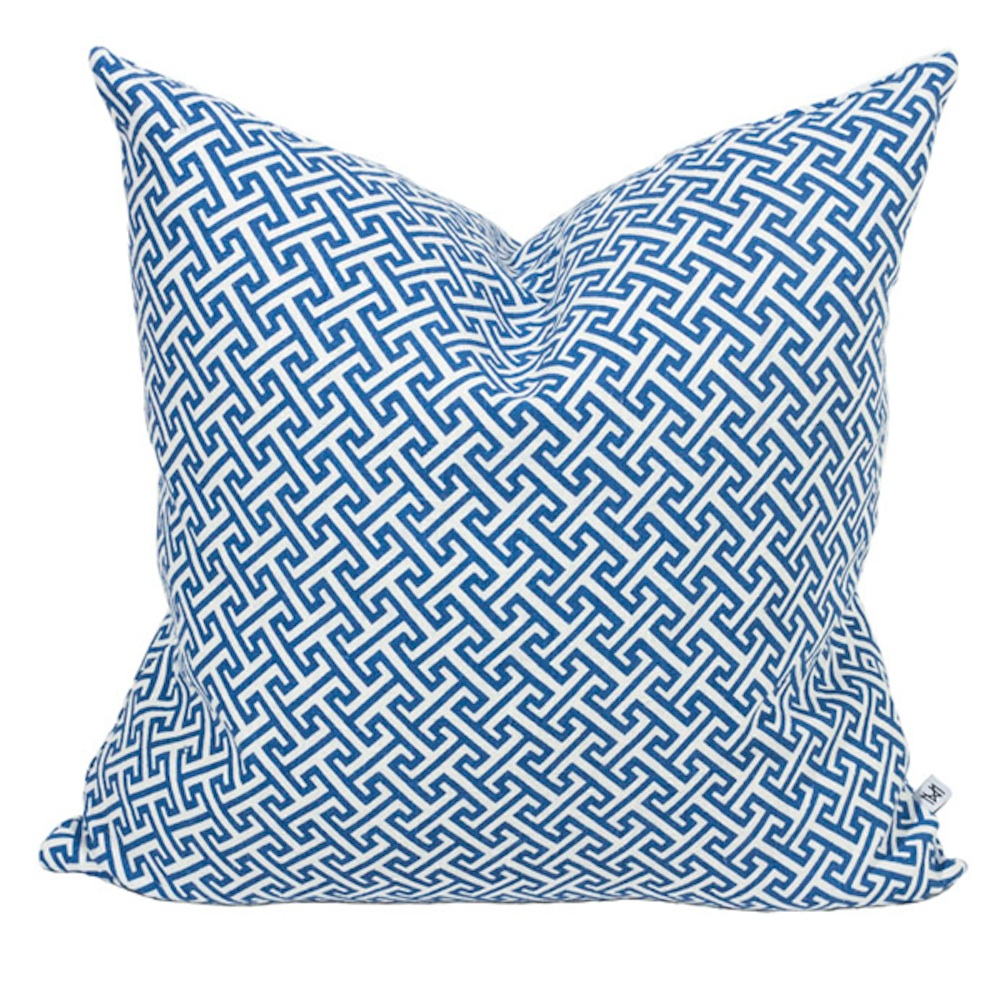 Athens Blue Cushion, In-Spaces £75.00