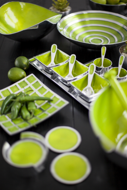 Lime Tableware Range, Oh So Pretty
