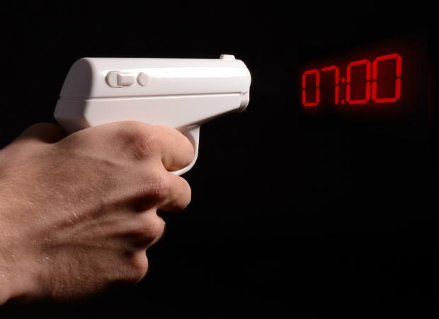 Secret Agent Alarm Clock, Prezzybox.com £17.95