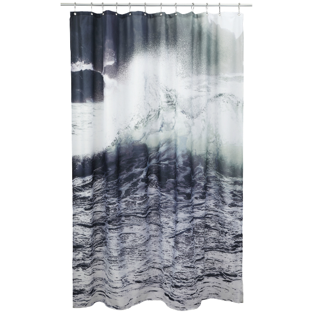 Wave Shower Curtain, Skandivis £55.00