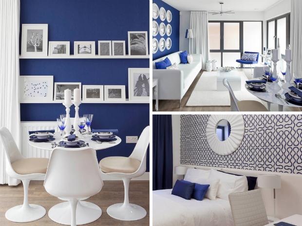 Suna Interior Design - Blue and White
