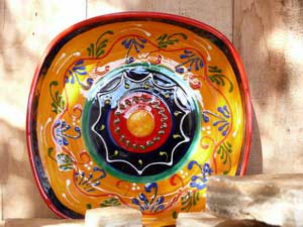Jaen Andalucian Fruit Bowl, orceserranoham