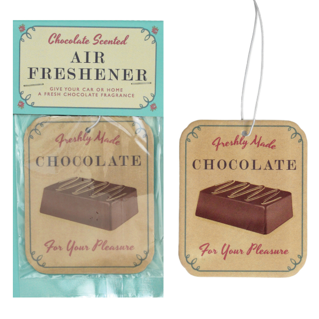 Chocolate Scented Air Freshener, dotcomgiftshop £2.95