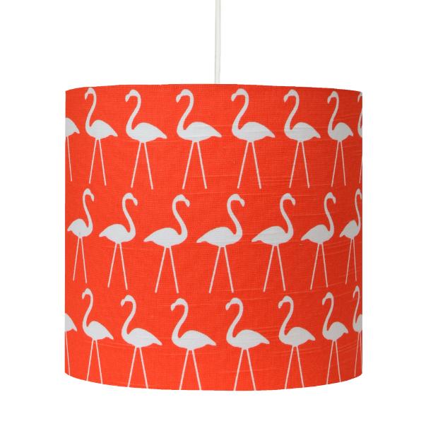 Handmade Flamingo Lampshade, hunkydory home £36.00
