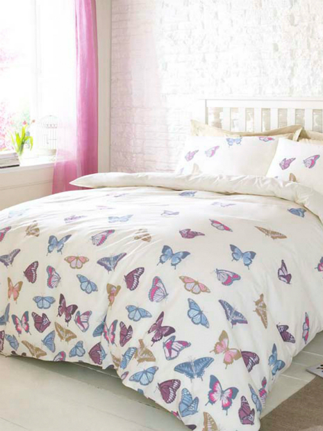 Butterfly Print Duvet Set, M&CO From £29