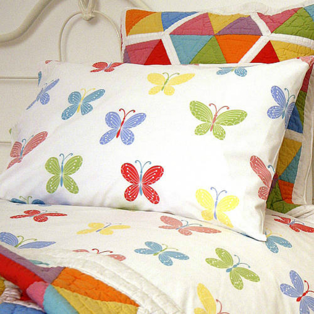 Butterfly Pillowcase, Not on the High Street £10.00