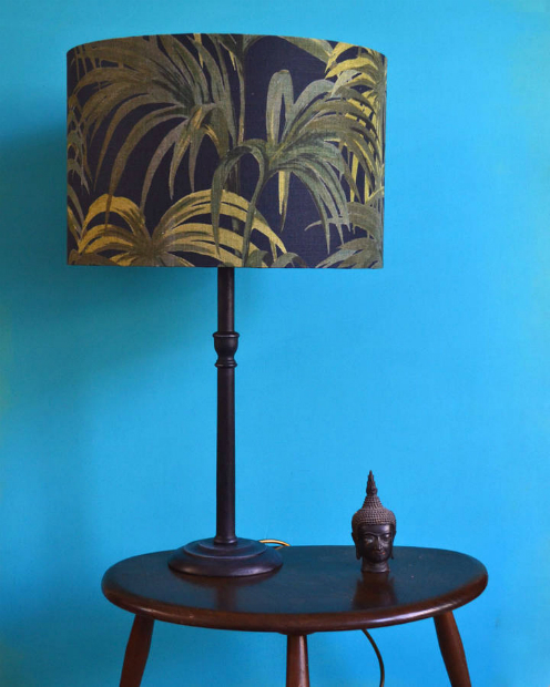 Handmade Midnight Palmeral Lampshade, Not on the High Street £79.99