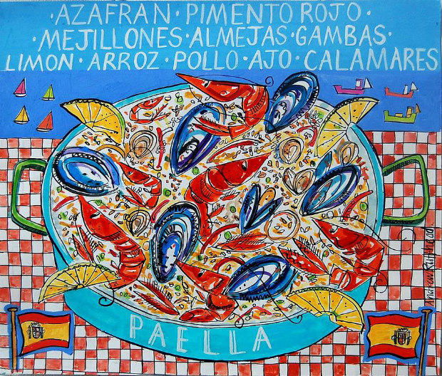 Paella Print, Not on the High Street £20.00
