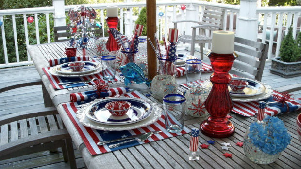 Patriotic Table Setting, Source