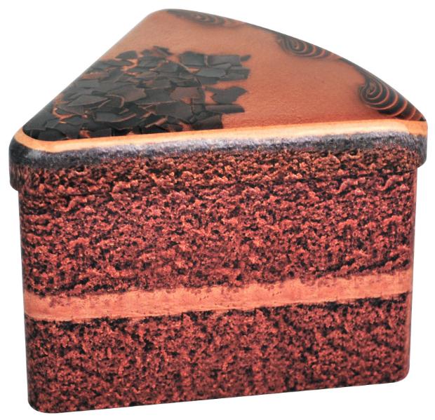 Cake Slice Tins Chocolate Cake, Scribber £3.99