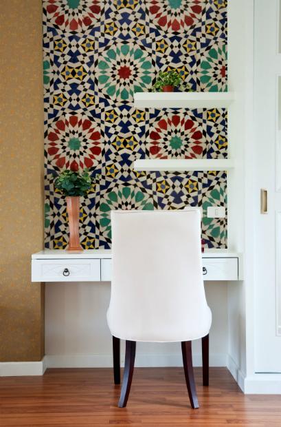 Morrocan Mosaic Mural, DigetexHome.co.uk £129.00