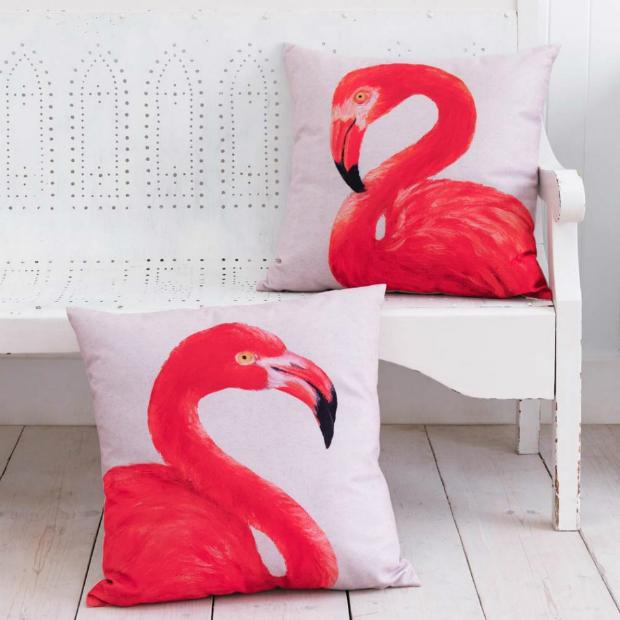 Flamingo Cushions, Graham and Green £60.00