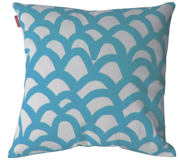 Havet Blue Cushion Cover, Quince Living £22.00