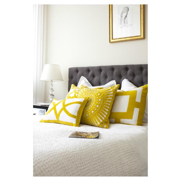 Bandhini Cushions Yellow, Eco Chic