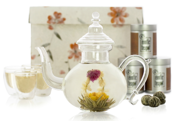 Oriental Glass Tea Set, The Exotic Teapot £54.00