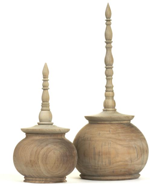 Finial Spice Pots, Trunk £70.00