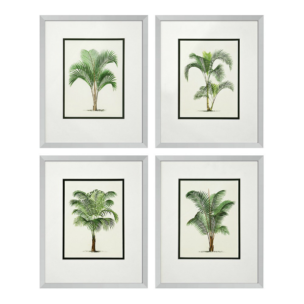 Eichholtz Palms Print Set Of 4, Occa-Home £640.00