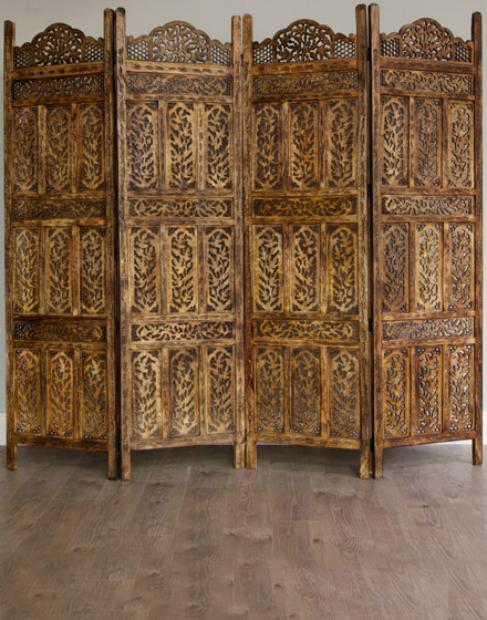 Moroccan Style Room Partition, Moroccan Bazaar