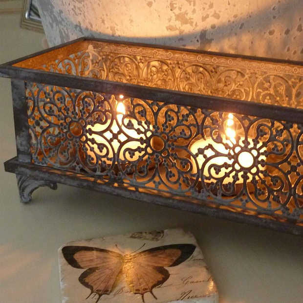 Moroccan Styled Candle Holder, Not on the High Street £24.95