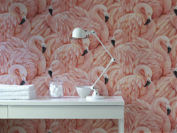 Flamingo, Wallpaperdirect £16.99