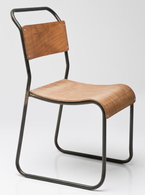 Detention Vintage School Chair, Alexander & Pearl £110.00