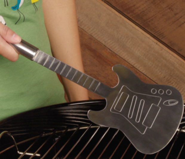 Steel Guitar Barbeque Spatula, Hunter Gatherer £19.95