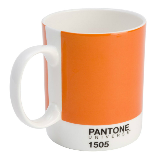 Pantone Mug Pumpkin 1505, Occa-Home £9.50