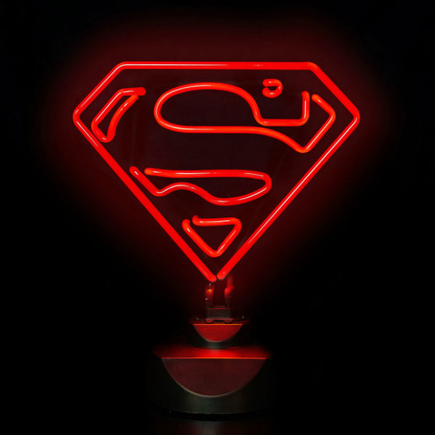 DC Comics Superman Neon Light, iwantoneofthose, £26.99
