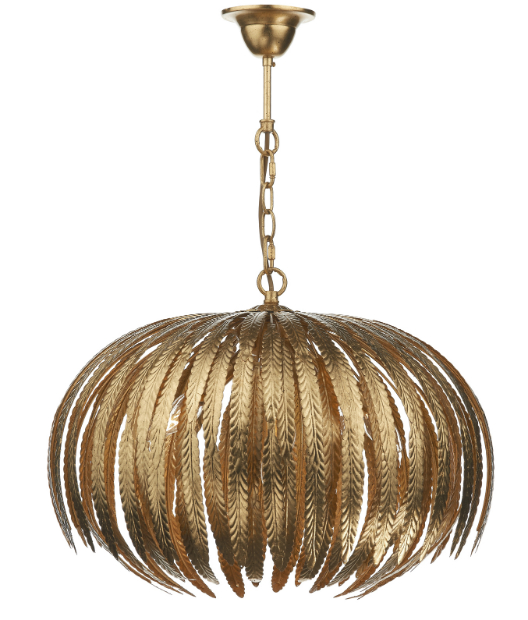 Babylon Gold Leaf Pendant, Alexander & Pearl £595.00