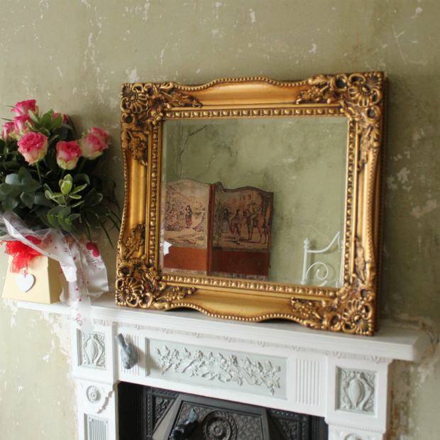 Gold Gilt Tuscany Mirror, Ayers and Graces £125.00