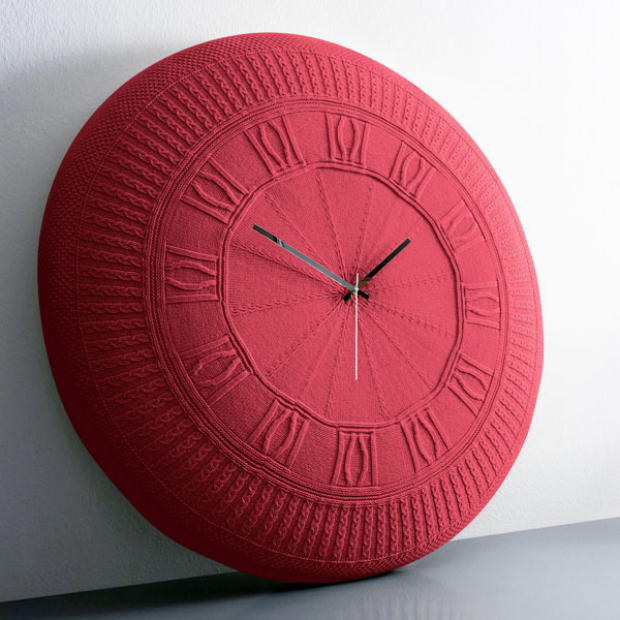 Gomitolo Knitted Clock, Furnish £220