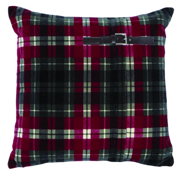 Jean Paul-Gaultier Nectar Tartan cushion, LuxDeco £88.50