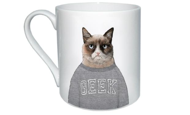 Grumpy Cat Mug, MAIDEN £10.00