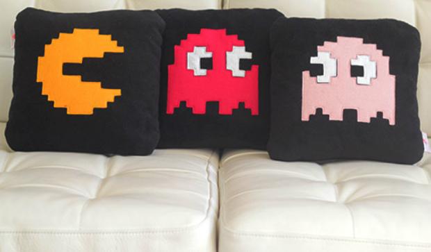 PacMan Cushions, Red Rocket Cushions £20.98 each