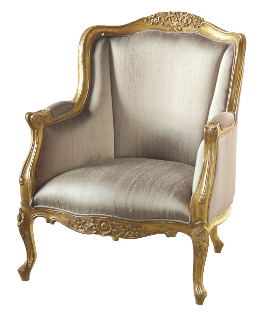 Gold Gilt Emmanuel Chair, Sweetpea & Willow £710.00